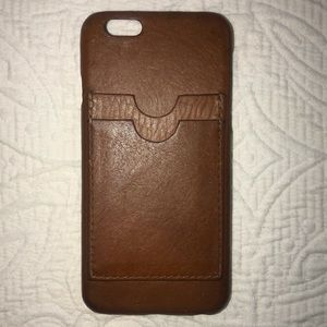 MADEWELL iPhone 6 Leather Phone Case & Cardholder